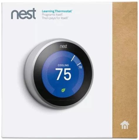 Nest Learning Thermostat (3rd Generation)   Focus Camera