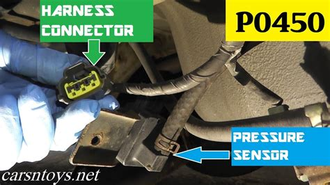 test  replace evap pressure sensor p youtube