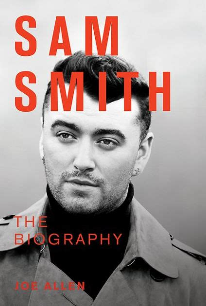 biography of sam smith sam smith the biography by stewart allan hardcover