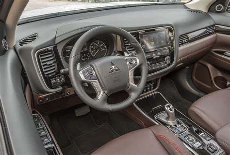 nissan outlander interior 2019 mitsubishi outlander exterior and interior review