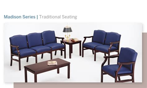 Hospital Waiting Room Furniture by Chairs Reception Area Lesro La Z Boy Healthcare Waiting