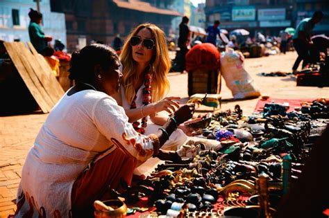 Conrad On The Market by Conrad Shopping On The Streets In Nepal The