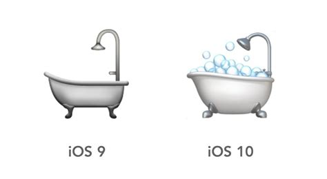 iphone in bathtub i have a large problem with the ios 10 emojis