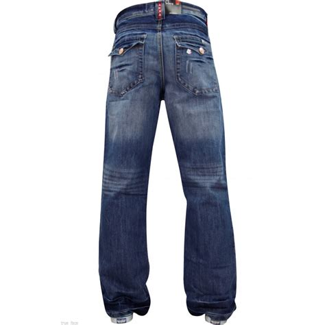 design jeans enzo mens a42 designer bootcut denim lightwash jeans