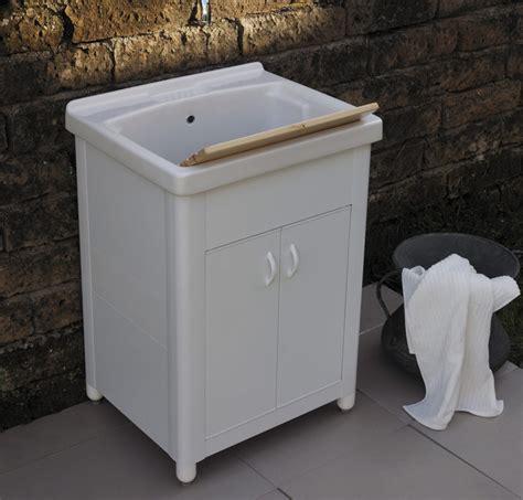 mobile lavatoio ceramica lavatoio in ceramica con mobile onda 61x51