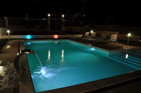 illuminazione piscine illuminazione per piscine crea la giusta atmosfera