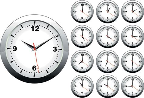 desain jam dinding vektor kata kunci jam waktu jam unsur unsur vektor free download