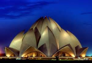 Who Built Lotus Temple Lotus Temple Delhi India Portrait This Is