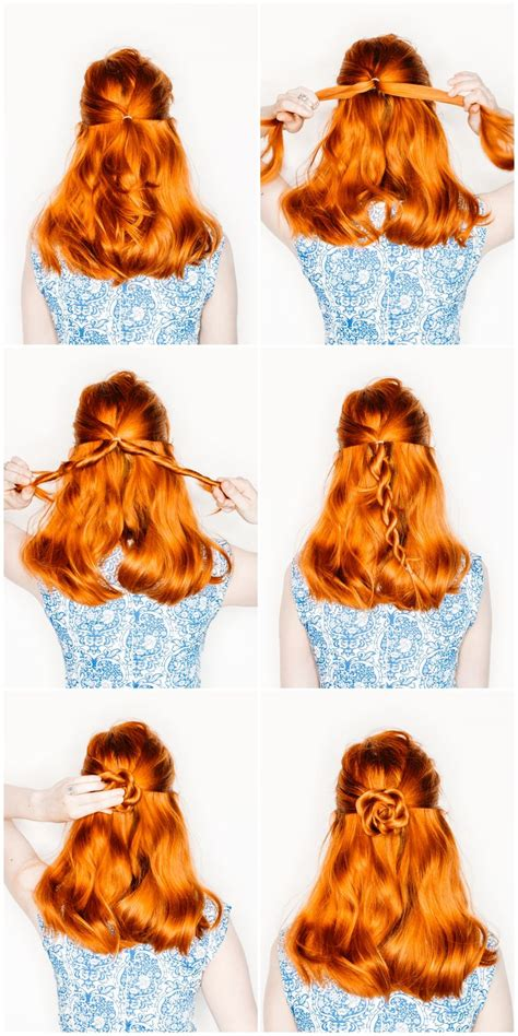 Easy Flower Hairstyles by 228 Best Styles For Hair Images On Hair
