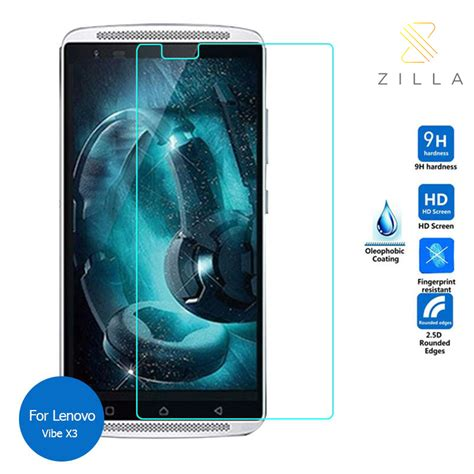 Tempered Glass Mizue M3s 3 Pilihan Warna zilla 2 5d tempered glass curved edge 9h 0 26mm for lenovo vibe x3 jakartanotebook