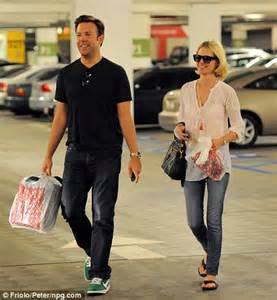 january jones visits the pharmacy with caring boyfriend