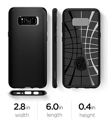 Spigen Air Skin For Galaxy S8 Black Berkualitas spigen liquid air armor galaxy s8 with durable flex and import it all