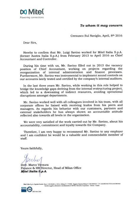 Reference Letter Kpmg Mitel Reference Letter
