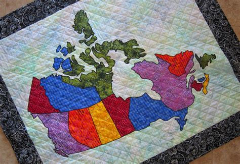 Patchwork Quilts Canada - pdf pattern canada patchwork map quilt pattern from quilts by