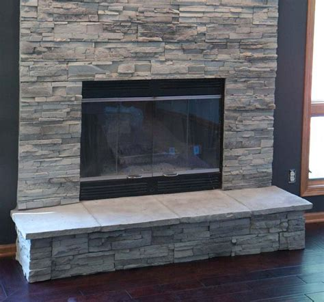 stone around fireplace stone veneer around fireplace the modification for the