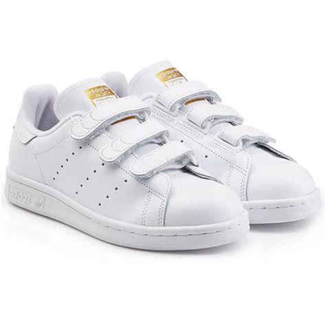 Sepatu Sneakers Adidas Stan Smith Gold Straps Adidas Stan Smith Gold Velcro