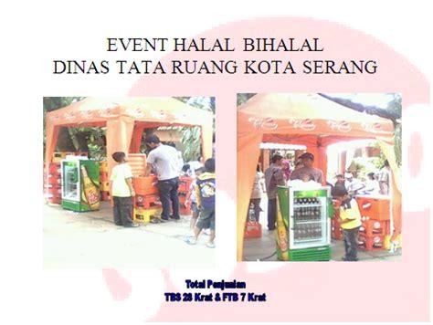 Teh Botol Sosro 1 Krat kantor penjualan serang event halal bilhalal di kp3b serang