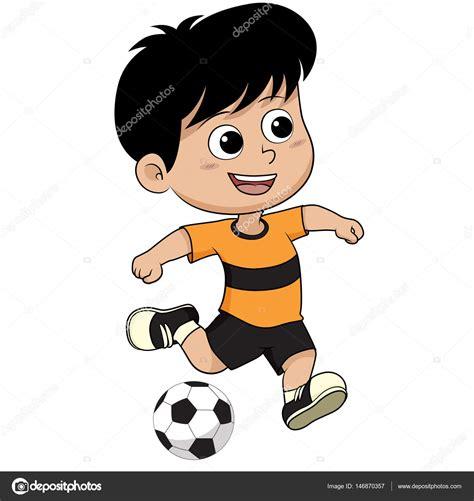 hombre de dibujos animados jugar futbol vector de stock ni 241 o de dibujos animados futbol vector de stock