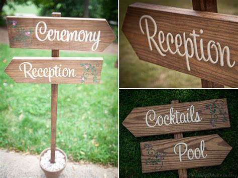 wedding signs diy a diy painted wedding signs bridalguide