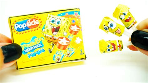 spongebob doll house miniature dollhouse spongebob push up pops popsicle