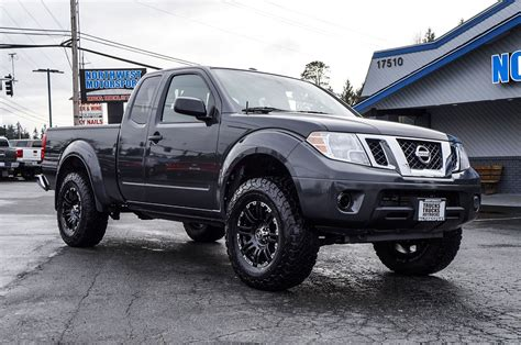 lifted nissan frontier used lifted 2015 nissan frontier sv 4x4 truck for sale 39809