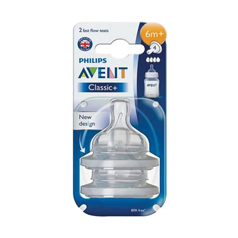 Avent Teat Fast Flow 6m jual avent classic teat fast flow 6m harga