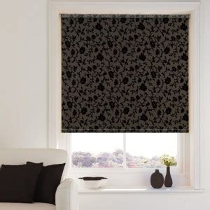 brown patterned roman blinds chocolate week web blinds