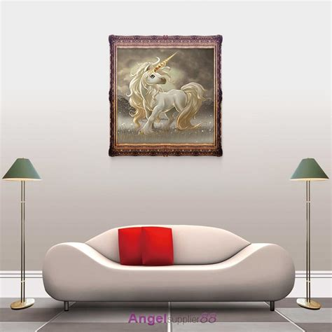 unicorn home decor pony unicorn 5d diamond diy embroidery painting cross