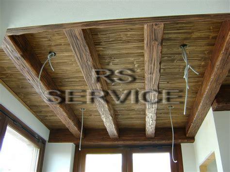 controsoffitti in legno rustici rs service arredo per interni finti travi e falsi