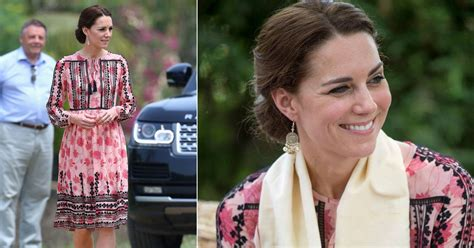 Get Look Kate Middletons Topshop Tunic Dress by Kate Middleton Wears A Topshop Smock Dress As She Changes