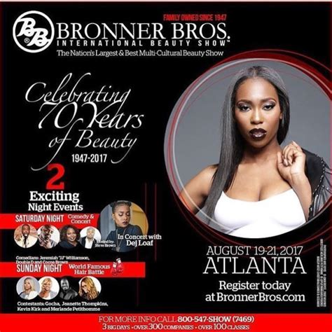 bronner brothers august bronner bros 2017 summer beauty show