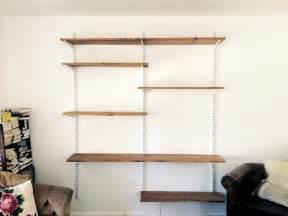 regal montieren wohnwand selber bauen anleitung und 12 ideen