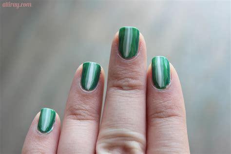 easy nail art with green and black nail art white and green nail art ideas