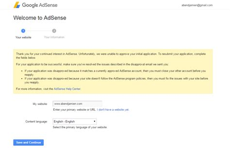 adsense help forum how to cancel my application to google adsense because my