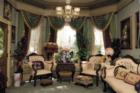 victorian home decor get dramatic color the victorian way