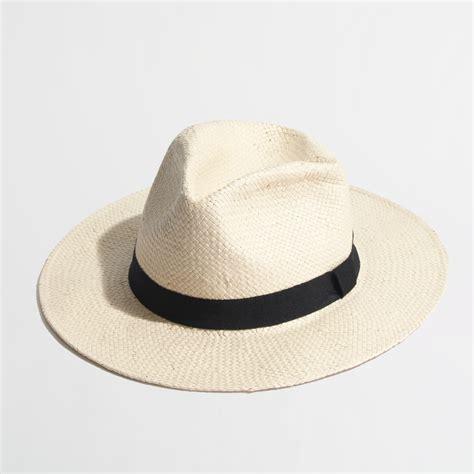 j crew factory panama hat in lyst