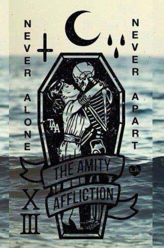 amity affliction tattoos 25 best screamo band quotes on screamo metal