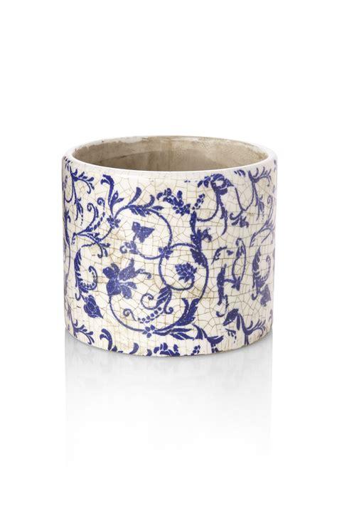 Produk Pot Tawon Putih Uk 12 crackle planter pot vessels vases connection