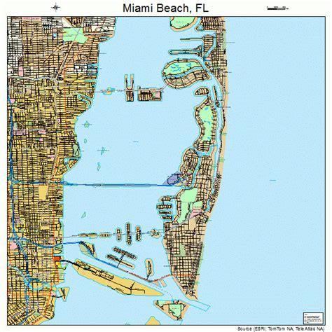 miami florida map 1245025