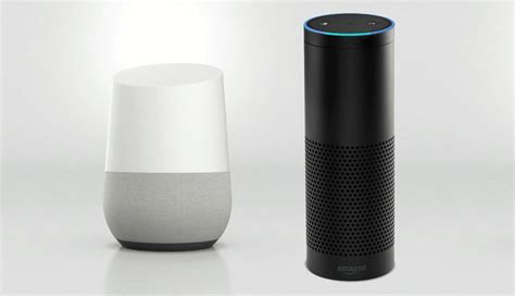 amazon echo vs google home which one is better home automation smart lighting voice activated control