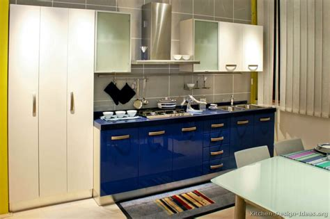 blue kitchen cabinet modern blue kitchen cabinets pictures design ideas