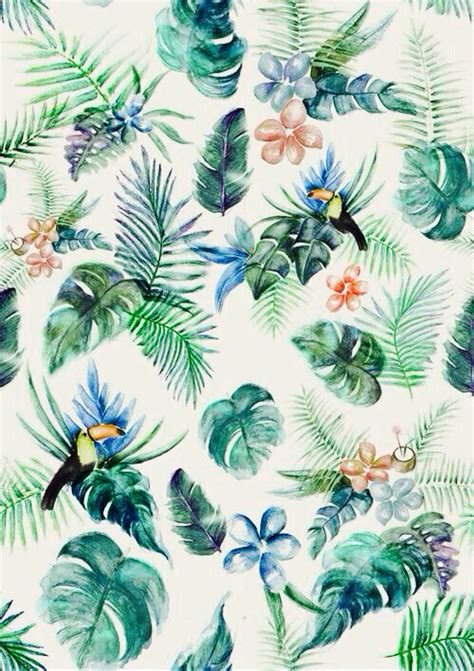 hawaiian pattern iphone wallpaper macaron tumblr