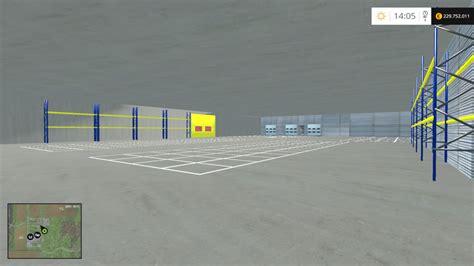 logistics center   fs farming simulator   mod