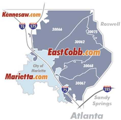 zip code map cobb county about east cobb eastcobb com