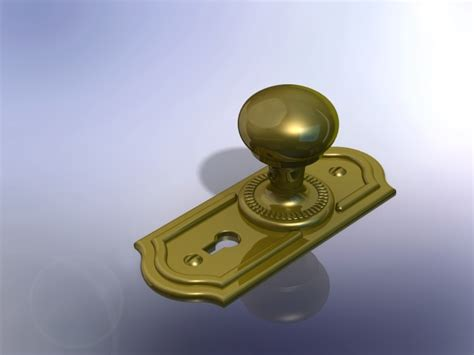 How To Make A Door Knob In Solidworks