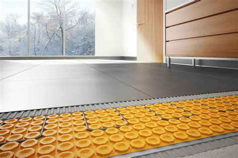 Heated Floors ? A Way To Make Your Kitchen or Bathroom
