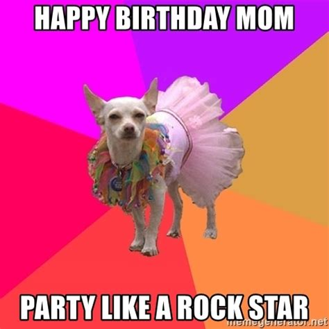 Happy Birthday Mum Meme - pics for gt mom birthday meme