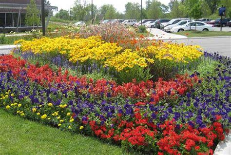 Sun Flower Beds by Flower Bed Ideas For Sun Pictures Beautiful Black
