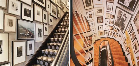 Ideas For Staircase Walls Staircase Picture Wall Ideas Nyc Interior Design