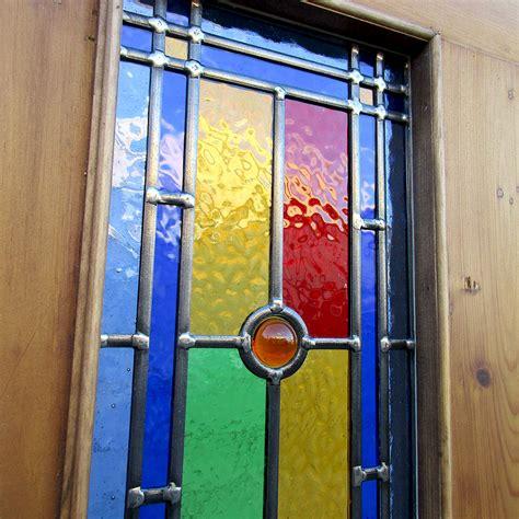 3 panel glass interior door 4 panel bullseye stained glass interior door period home